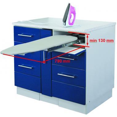 Выдвижная гладильная доска (система выдвижения гладильная доска в ящике)