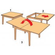 Механизм для столов типа «книжка»