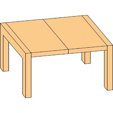 Механизм для бесцарговых столов большого раздвижения