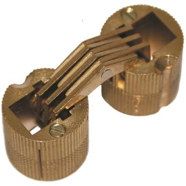 Петли CH/1 цилиндрические латунные c одним фиксатором