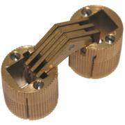 Петли CH/2 цилиндрические латунные c двумя фиксаторами