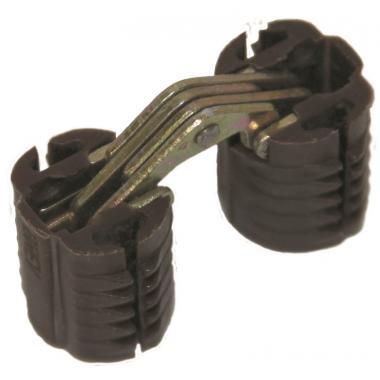 Петли CH/P цилиндрические пластиковые со стальным пластинчатым шарниром
