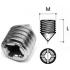 Стяжки диаметром 10 мм