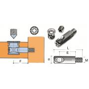 Стяжки диаметром 7 – 8 мм